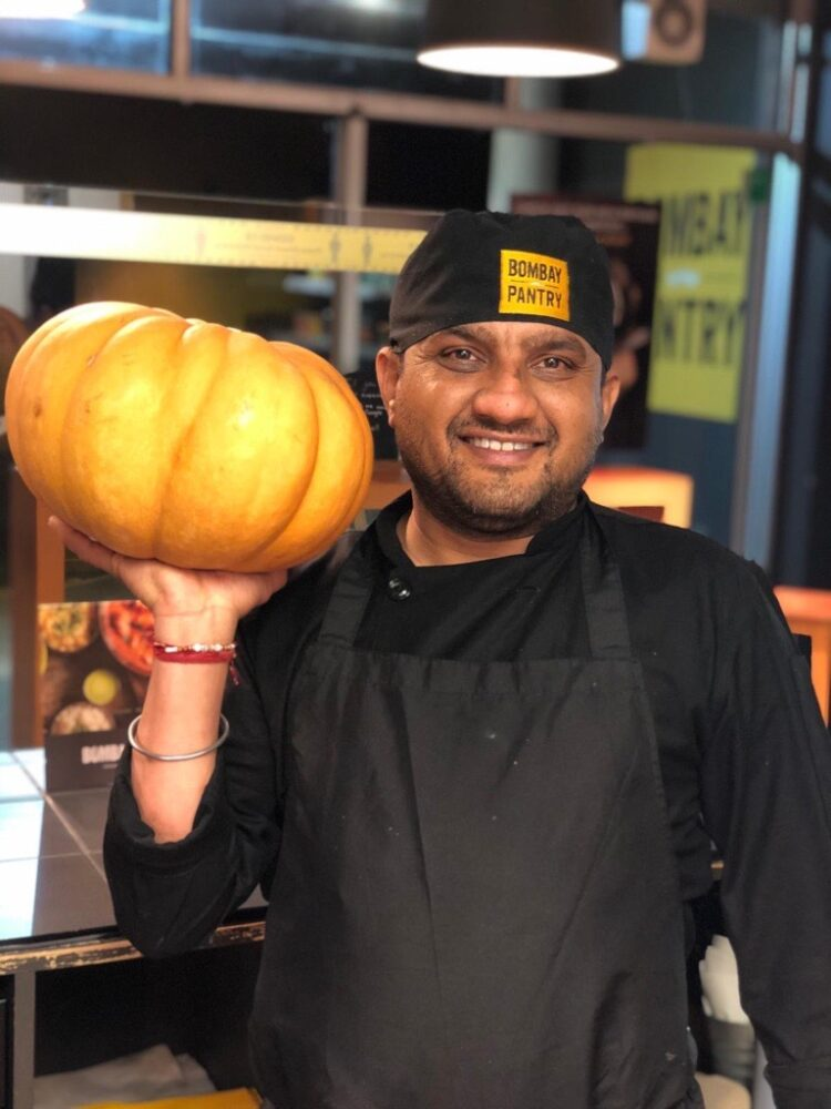 Vegan Pumpkin Curry Chef Special October